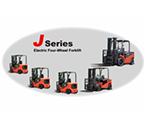 1.0-8.5t J Series 4-Wheel electric forklift