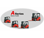 1-3.5t A Series 4-Wheel electric forklift