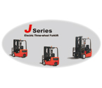 J series 3-wheel electric forklift
